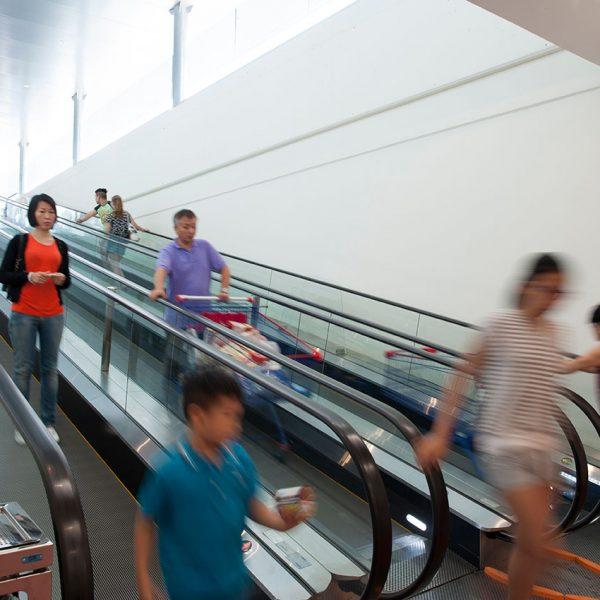 scale mobili supermercato