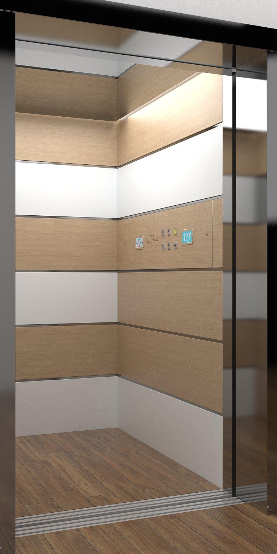 cabine per ascensori
