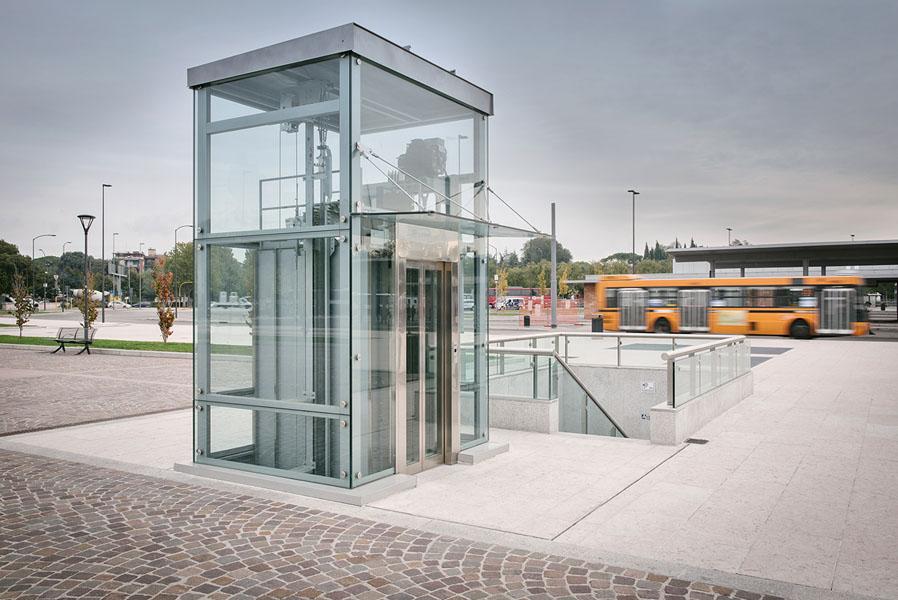 ascensori pubblici