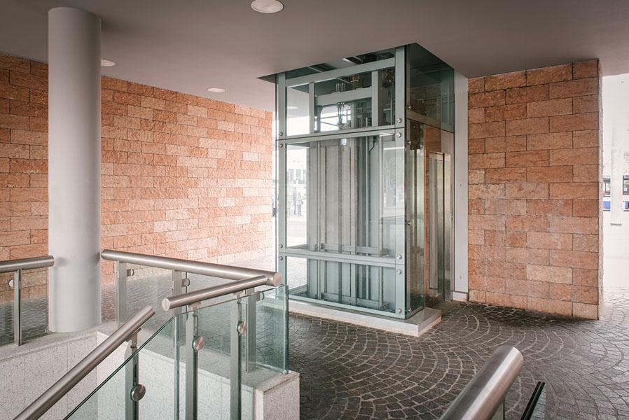 ascensore pubblico Stazione P.ta Nuova Verona