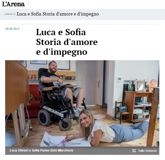 ascensori esterni disabili - Luca e Sofia